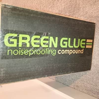 Case of Green Glue Noiseproofing Compound - 12 Tubes - 12 Tubes  Compound
