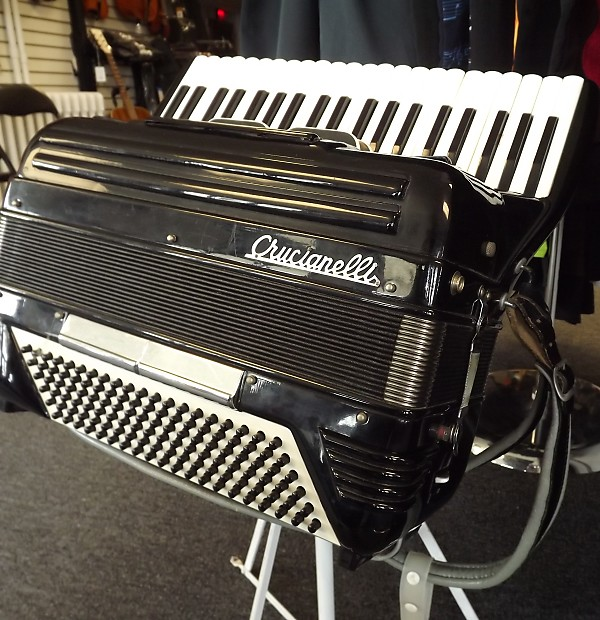 Crucianelli Accordion and Case Italy | Pleasantville Music