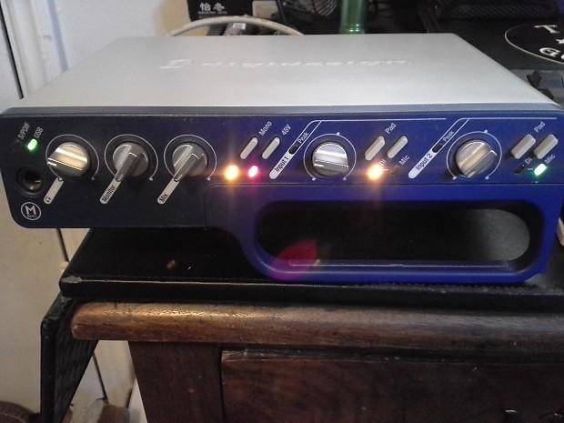 Digidesign Mbox 2 Usb Digital Audio Interface W Ignition Reverb
