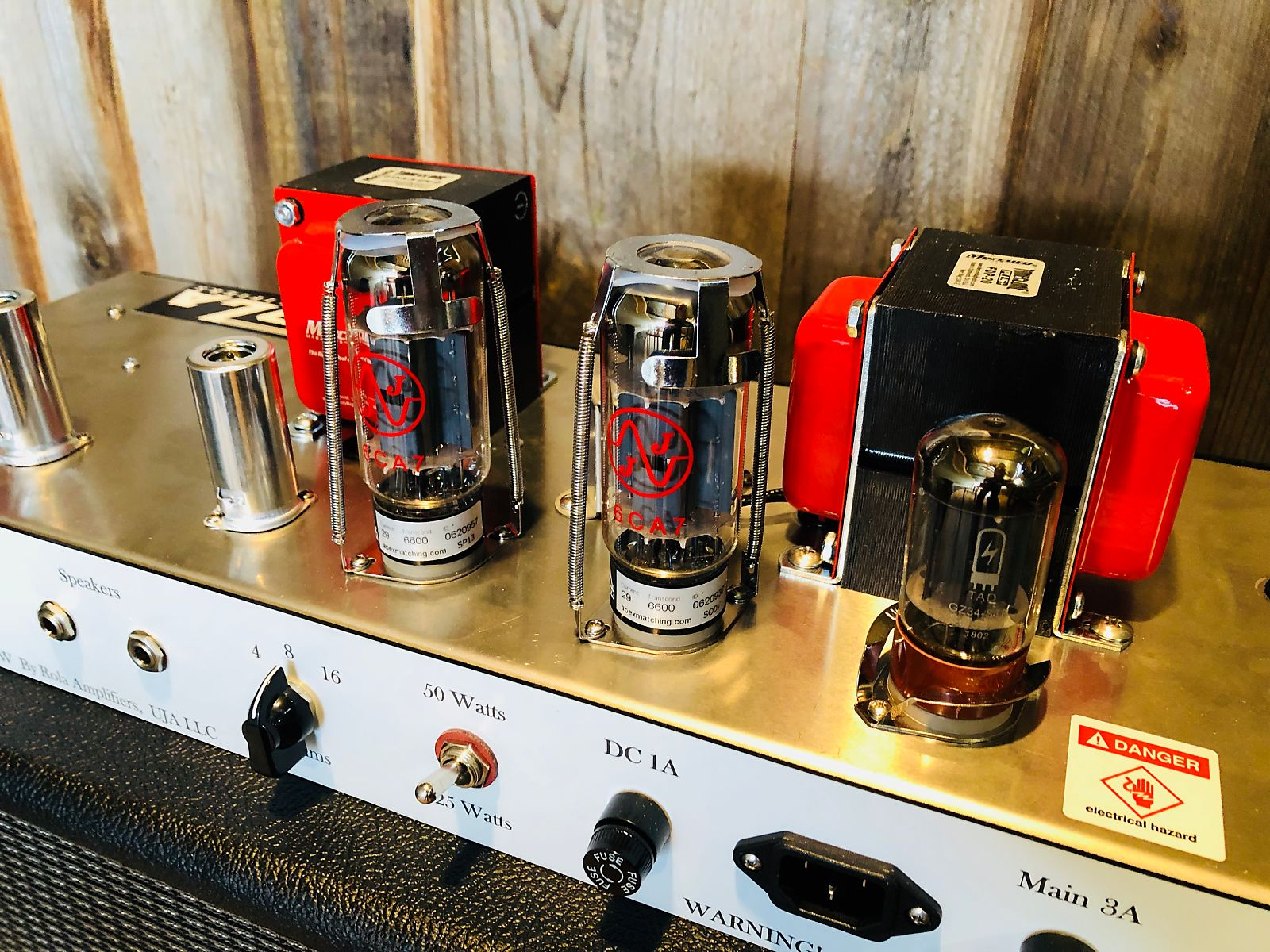 Rola Amplifiers, Rock 50HW, Hand wired in the USA