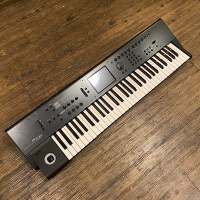 KORG M-50 Keyboard synthesizer 61-key -GrunSound-w937-