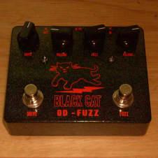 Black Cat OD & Fuzz - Fuzz Face and OD-1 - Germanium Version