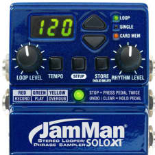 DigiTech JamMan Solo XT w/ footswitch /Bonus 32MB Smart data card FREE