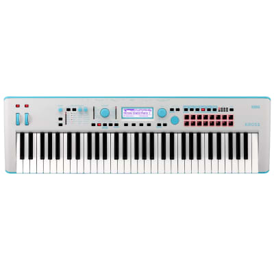 Korg KROSS 2 61-Key Synthesizer Workstation (Gray-Blue)