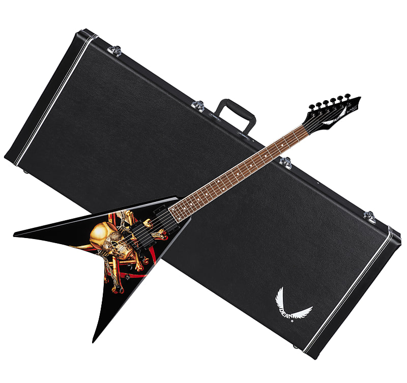 DEAN VMNT Electric guitar Dave Mustaine Killing is My Business w/ CASE - B-stock image