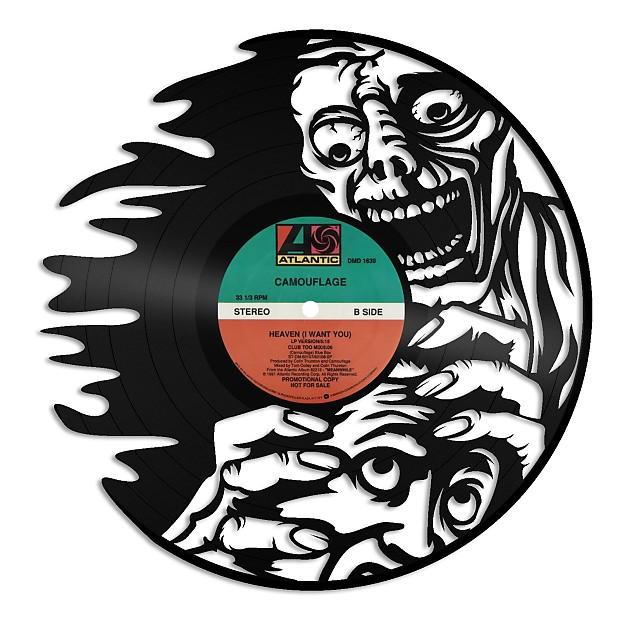 Zombie Vinyl Wall Art - Silver / No Frame | VINYLSHOPUS | Reverb