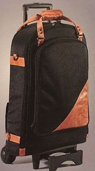 Gard Wheelie Bag In Leather Trpt Picc Flugel Reverb