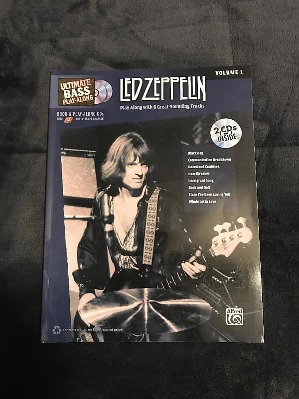 Alfred Led Zeppelin V1 Book w/2 CDs   Dianes Deals