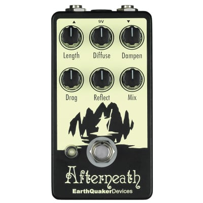 EarthQuaker Devices Afterneath Otherworldly Reverberation Machine
