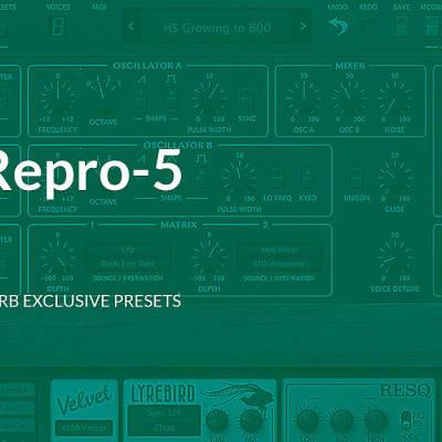 Presets / Software & Plugins | Reverb