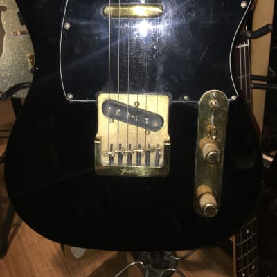 Fender Vintage Black and Gold Telecaster 1981-1983 for sale