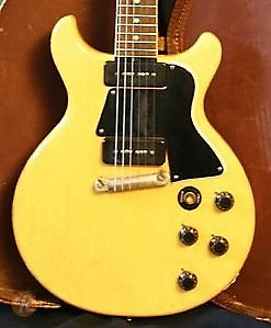Gibson Les Paul Special Double Cutaway Tv Yellow 1959 Reverb