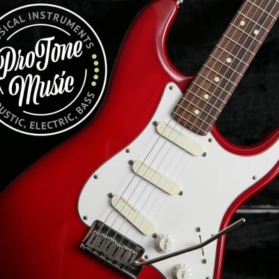 1993 Fender USA Strat Plus Deluxe Crimson Burst & Original Fender Case for sale