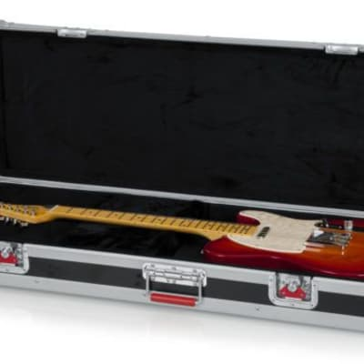 Gator G-TOUR-ELEC ATA Standard Double Cutaway Electric Guitar Road Case