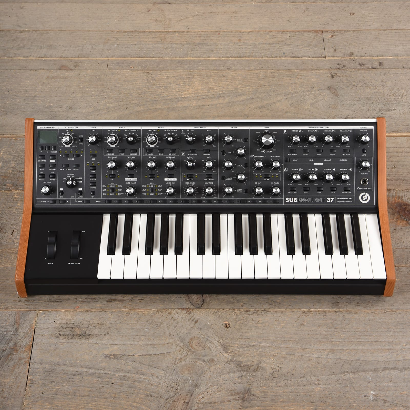 Moog SUBsequent 37 Synthesizer USED