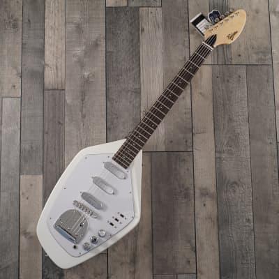 Revelation VTX-62 Electric Guitar, White for sale