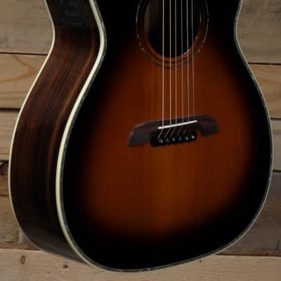 Alvarez WY1TS Yairi Stage Series Folk Acoustic/Electric Guitar Tobacco Sunburst w/ Case for sale