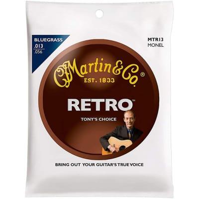 New Martin MTR13 Retro Tony Rice Signature Monel Bluegrass Acoustic Guitar Strings