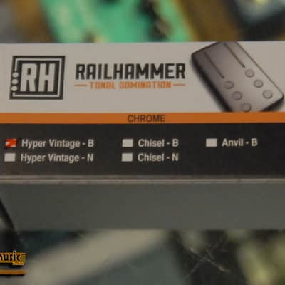 Railhammer Hyper Vintage Bridge - Chrome image