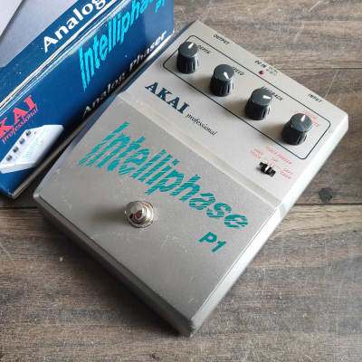 2000's AKAI Intelliphase Analog Phaser P1 w/Box for sale