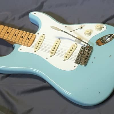 Fender Classic Player '50s Stratocaster 2006 Daphne Blue with Fender Bag (SEE details) for sale