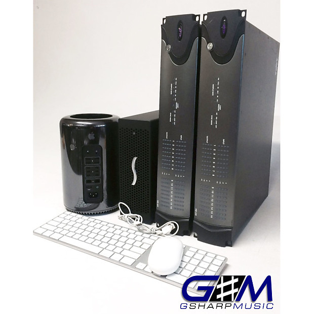 Avid Pro Tools Ultimate HDX Sonnet Chassis HD i/o's 32x32 Apple Mac Pro 6,1  12 Core