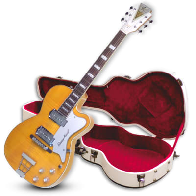 """Kay Reissue Barney Kessel Gold """"K"""" Signature Series Pro K1700V - Natural Blonde - With Case"""