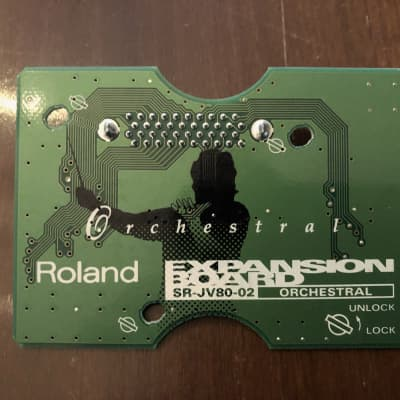 Roland SR-JV80-02 Orchestral Expansion Board - Free shipping Canada/USA