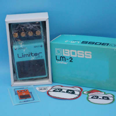 Boss LM-2 Limiter w/Original Box   Rare (Black Label) Made in Japan   Fast Shipping!