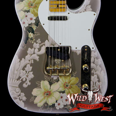 Fender Custom Shop Yuriy Shishkov Masterbuilt Retro Decor Telecaster Journeyman Relic Authentic 1930's Wallpaper w/Damask Motif for sale