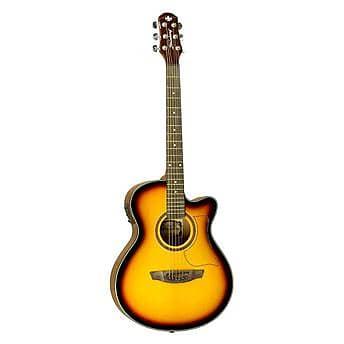 acoustic electric guitar strinberg aw50c sunburst tuner free reverb. Black Bedroom Furniture Sets. Home Design Ideas