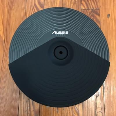 "Alesis 14"" Triple Zone Cymbal NEW (1 Port) Crash Ride DMPad DM10 MKII E-Drum Drums"