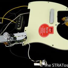 Fender 60s Baja Telecaster LOADED PICKGUARD S-1 Custom Shop USA 52 & 58 Pickups!