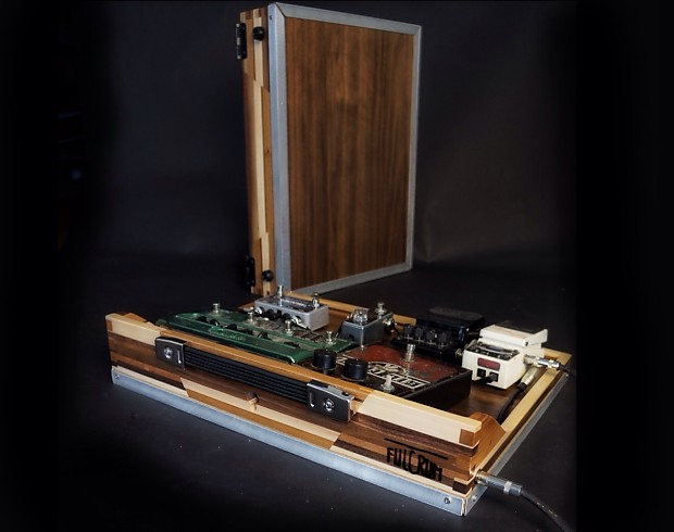 Fulcrum Flat Pedal Case Amp Pedalboard Custom Reclaimed