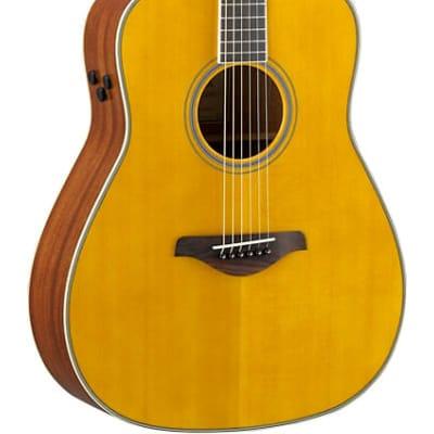 Yamaha FG-TA VT Transacoustic Acoustic-Electric Guitar Vintage Tint