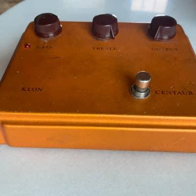 Klon Centaur Professional Overdrive (Non-Horsie) 2000s Gold