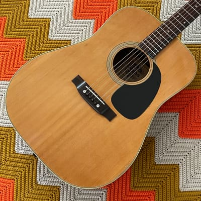 El Degas F220 Dreadnaught - 1970's Made in Japan 🇯🇵!! - Powerful Guitar with Gorgeous Woods! - Plays Perfect!! - for sale
