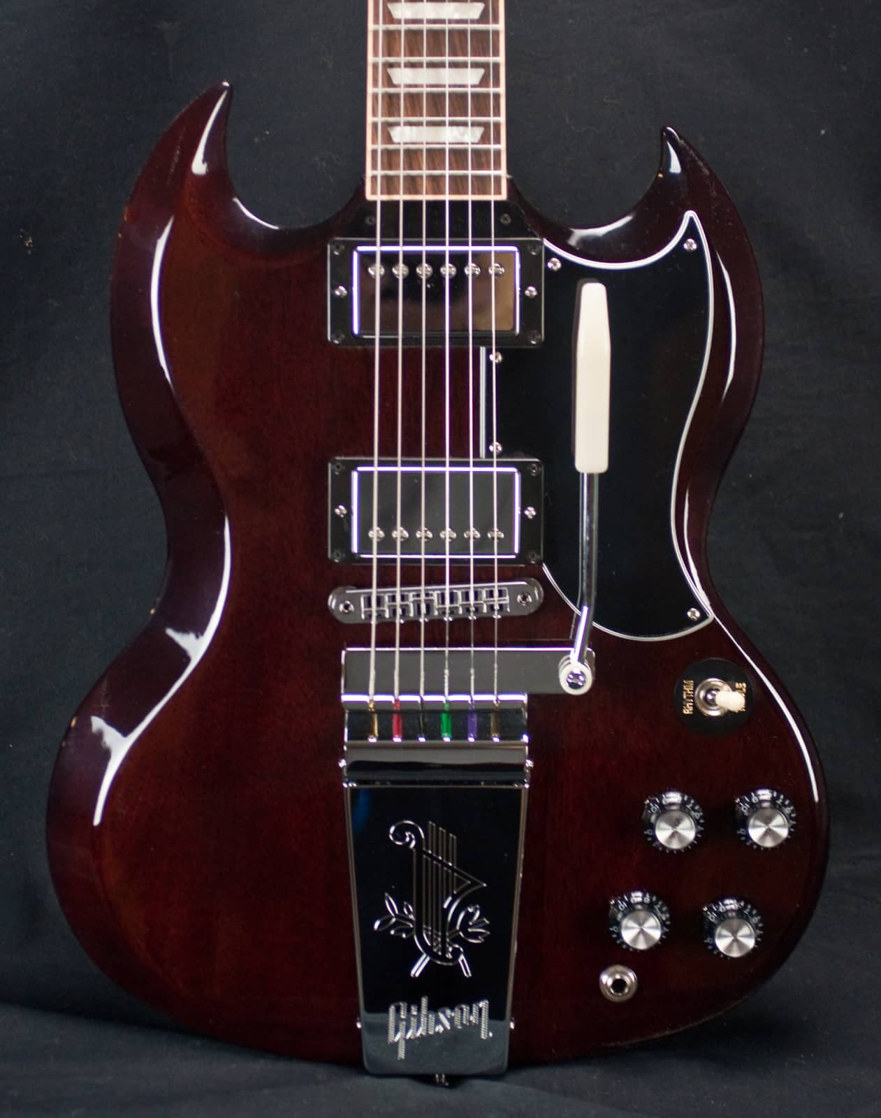gibson sg original 2 aged cherry electric guitar used reverb. Black Bedroom Furniture Sets. Home Design Ideas