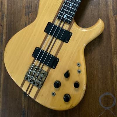 Aria Pro II, SB-900 Bass, Natural, 1981, Hard Case, 39 year vintage