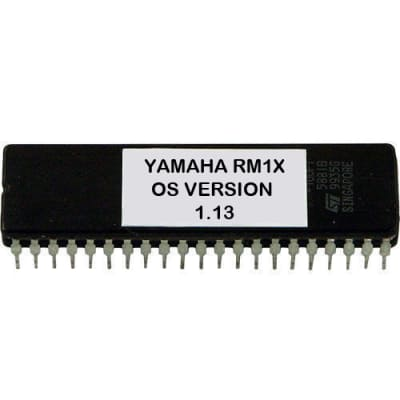 Yamaha RM1X version 1.13 firmware OS Latest update upgrade Erpom