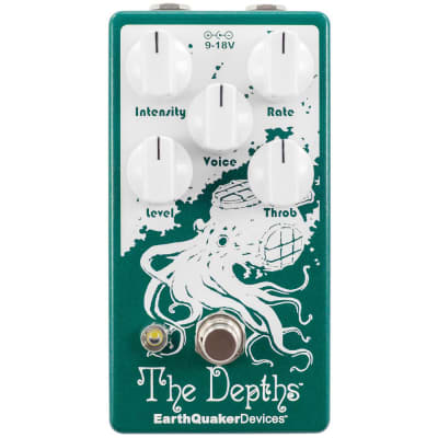 EarthQuaker Devices - The Depths - Analog Optical Vibe Machine Pedal (V2)