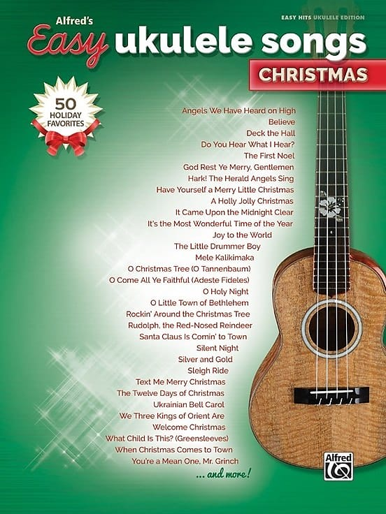 Alfreds Easy Ukulele Songs Christmas Bethlehem Musik Reverb