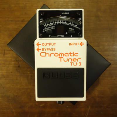 Boss TU-3 Chromatic Tuner White