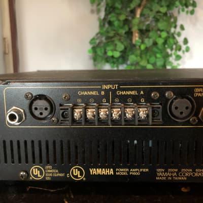 Yamaha P1600 Power Amp Black