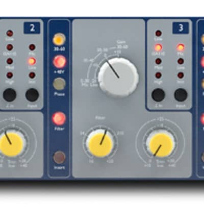 Focusrite ISA428 MKII MK2 4-Channel Mic Microphone Preamp