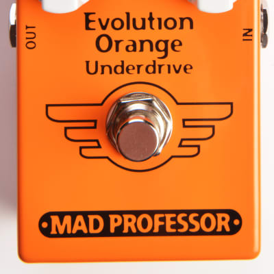 Mad Professor Evolution Orange Underdrive Effect Pedal for sale