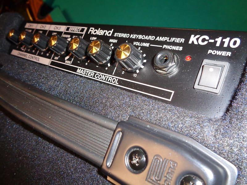roland kc110 mini keyboard amp battery powered reverb. Black Bedroom Furniture Sets. Home Design Ideas
