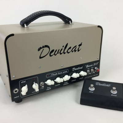 Devilcat Amplifiers - Gussie 317 3W/17W All tube head + Free Shipping