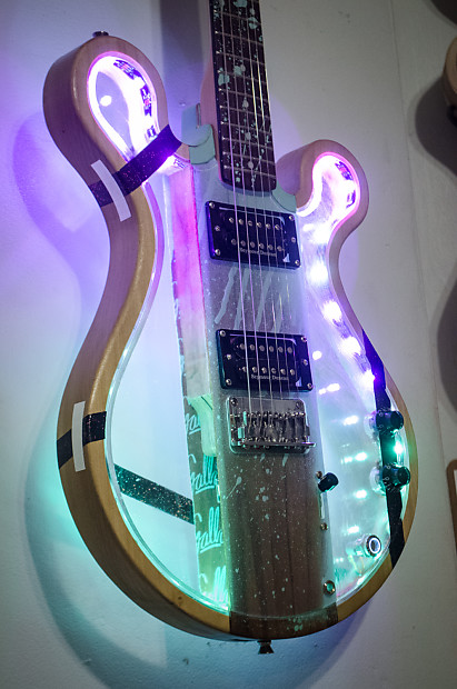 gallo soul runner wood acrylic guitar with sound reverb. Black Bedroom Furniture Sets. Home Design Ideas