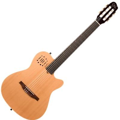 neuwertig Gitarren & Bässe Godin A6 Ultra 2 Natural